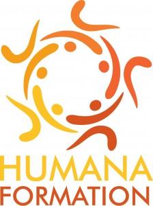 LOGO - HUMANA FORMATION - Formation continue pour les professionnels du soin, du bien-être, de la relation d'aide et de l'accompagnement