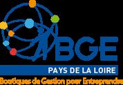 Logo du réseau des Boutiques de gestion pour entreprendre (BGE) des Pays-de-Loire