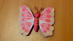 Le papillon de Corinne POULAIN à Créteil (94)