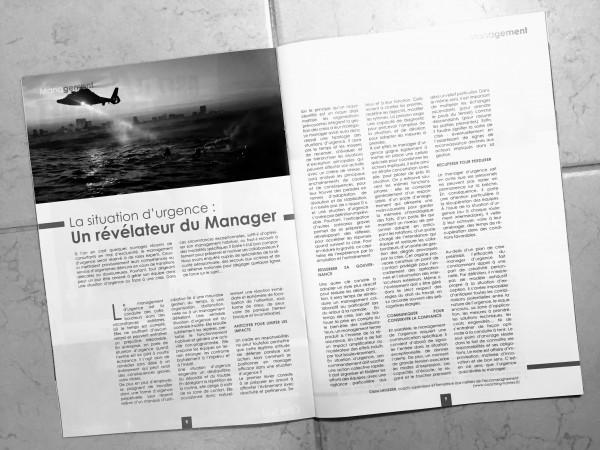 Article de Claire LHUISSIER dans le numéro 3 de CLASSE AFFAIRES