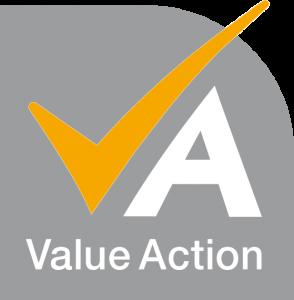 LOGO - Groupe VALUE ACTION - Cabinet de conseil et de formation en pilotage stratégique et management opértionnel des organisations à Ambrières-les-Vallées (53)