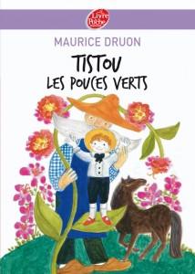 Couverture du livre 'Tistou les pouces verts'