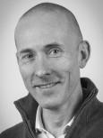 Portrait de Pierre COCHETEUX en noir et blanc