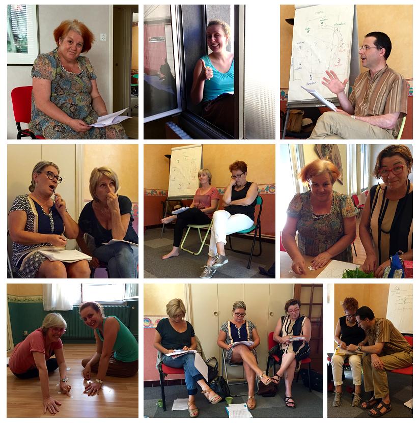 Initiation à l'ennéagramme pour les sophrologues de l'IDREC à Carcassonne
